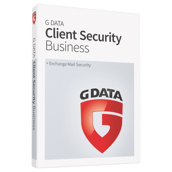 G Data Client Security Business (+ Exchange Mail Security)